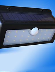 hesapli -1 adet 4.5 w led sokak ışık güneş duvar ışık dekoratif hareket algılama monitör beyaz 1.2 v dış aydınlatma avlu 1led boncuk