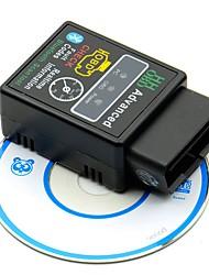 Недорогие -v2.1 mini bluetooth elm327 obd hh obdii protocolos obd2 автомобильный диагностический сканер