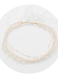 ราคาถูก -คริสตัล headbands กับ คริสตัล 1 ชิ้น งานแต่งงาน / งานปาร์ตี้ / งานราตรี หูฟัง