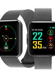 abordables -Indear S88 Pulsera inteligente Android iOS Bluetooth Smart Deportes Impermeable Monitor de Pulso Cardiaco Reloj Cronómetro Podómetro Recordatorio de Llamadas Seguimiento de Actividad Seguimiento del