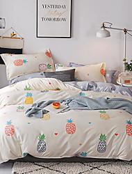 お買い得  -布団カバーセット 贅沢 / カートゥン / 現代風 ポリスター プリント 4個Bedding Sets