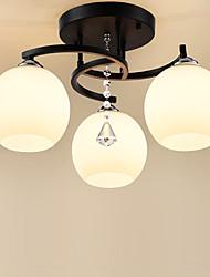 hesapli -JSGYlights 3-Işık Gömme Montajlı Işıklar Ortam Işığı Boyalı kaplamalar Metal Cam 110-120V / 220-240V