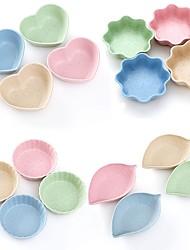 abordables -4 Pièces Relish Plate Vaisselle Matériau Agréé pour l'Usage Alimentaire Résistant à la chaleur