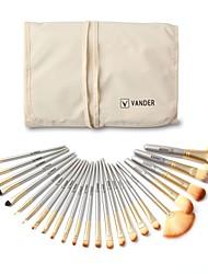 economico -Personalizzato Legno / Bambù Set di pennelli Sposa Matrimonio / Da allenamento -