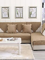 abordables -El amortiguador del sofá Romamticismo / Contemporáneo Acolchado Algodón Fundas