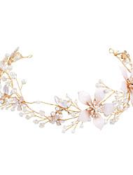 ราคาถูก -โลหะผสม headbands กับ เพิร์ลเทียม 1 ชิ้น งานแต่งงาน / งานปาร์ตี้ / งานราตรี หูฟัง