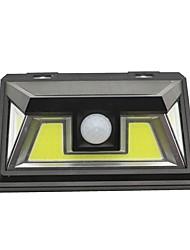 Недорогие -1шт 15 W Солнечный свет стены Водонепроницаемый / Работает от солнечной энергии / Монитор обнаружения движения Белый 5.5 V Уличное освещение / двор / Сад 3 Светодиодные бусины