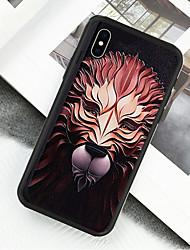 preiswerte -Hülle Für Apple iPhone X / iPhone XS Muster Ganzkörper-Gehäuse Tier Hart Acryl für iPhone XS / iPhone XR / iPhone X