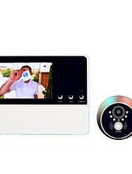Недорогие -Беспроводная цифровая видеодомофонная система. Встроенный динамик. 3,2-дюймовый громкоговорящий видеодомофон.