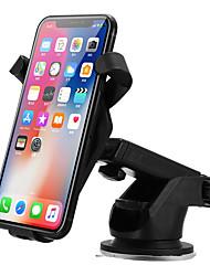 Недорогие -лобовое стекло автомобиля беспроводное автомобильное зарядное устройство держатель для зарядки приборной панели для iphone 8 / plus / x Samsung S8 Apple часы