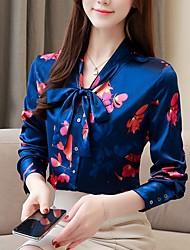 halpa -naisten paita - kukka v kaula