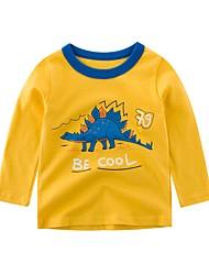 halpa -Lapset Poikien Aktiivinen Painettu Pitkähihainen Polyesteri T-paita Uima-allas