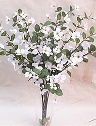 Недорогие -Искусственные Цветы 1 Филиал Классический Сценический реквизит Пастораль Стиль Pастений Вечные цветы Букеты на стол