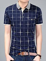 halpa -miesten paita - ruudullinen paita kaulus