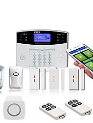 Недорогие -PIR new wireless anti-theft alarm system gsm home anti-theft alarm door and window detection home alarm Системы охранной сигнализации / Alarm хост / Дверь и окно датчик GSM iOS / Android Платформа GSM