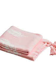abordables -Jet de canapé, Couleur Pleine / simple Coton Réchauffeur Confortable Super Doux couvertures