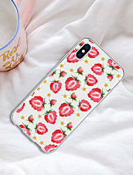 cheap -Case For Apple iPhone XR / iPhone XS Max Pattern Back Cover Food / Fruit Soft TPU for iPhone XS / iPhone XR / iPhone XS Max