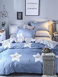 お買い得  -布団カバーセット 贅沢 ポリスター プリント 4個Bedding Sets