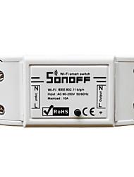 Недорогие -sonoff diy беспроводной переключатель для модуля умной домашней автоматизации 90-250v