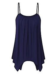 preiswerte -Damen Tunika Kleid - Gefaltet, Solide Übers Knie