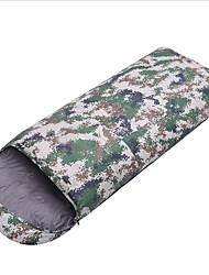 Недорогие -Shamocamel® Спальный мешок на открытом воздухе Прямоугольный 10 °C Пух белой утки Перо для Осень Зима
