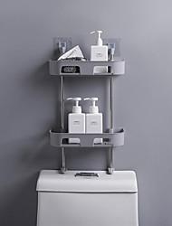 halpa -Kylpyhuonehylly / Saippua Astiat ja haltijat Monikerroksinen / Tyylikäs / Lovely Nykyaikainen / Moderni Muovit 1kpl - Kylpyhuone Lattia-asennus