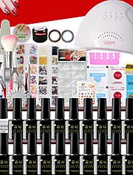 ราคาถูก -Acrylic Kit แสงระยิบระยับ UV Gel คลาสสิก / คุณภาพที่ดีที่สุด ซีรีส์โรแมนติก เล็บ ทำเล็บมือเล็บเท้า โรแมนติก / แฟชั่น ทุกวัน / เทศกาล