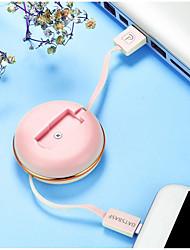 Недорогие -Micro USB Адаптер USB-кабеля Плоские / OTG Кабель Назначение Samsung / Huawei / LG 75 cm Назначение TPE / ABS + PC