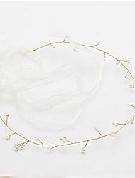 ราคาถูก -ไข่มุกเทียม headbands กับ เพิร์ลเทียม 1 ชิ้น งานแต่งงาน / งานปาร์ตี้ / งานราตรี หูฟัง