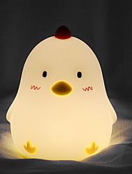 זול -1pc LED לילה אור / אור לילה לילד צהוב USB יצירתי <=36 V