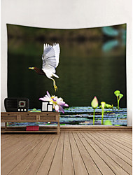 cheap -Eagle Wall Decor 100% Polyester Contemporary Wall Art, Wall Tapestries Decoration