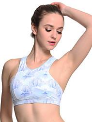 hesapli -Bayanlar Tam Kaplama Sutyenler Spor Sutyen Polyester Açık Mavi S M L