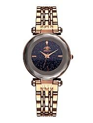 preiswerte -Damen Quartz Uhr Quartz Schwarz 30 m Wasserdicht Analog Glanz Modisch - Gold Schwarz Purpur Zwei jahr Batterielebensdauer