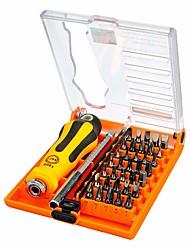 Недорогие -JAKEMY Портативные Инструменты 37 в 1 Наборы инструментов Домашний ремонт Ремонт Apple Samsung для ремонта компьютеров