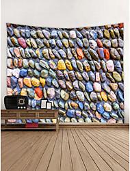 abordables -Noël / Famille Décoration murale 100 % Polyester Moderne Art mural, Tapisseries murales Décoration