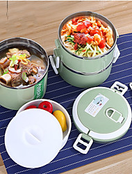 cheap -1 set Lunch Box Dinnerware Stainless steel Stainless Steel / Iron Adorable Creative