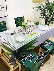 tanie -Nowoczesny Casual Włókno celulozowe Kwadrat Obrus Kwiaty Geometric Shape Drukowanie Wodoszczelny Dekoracje stołowe 1 pcs