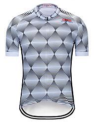 tanie -TELEYI Męskie Krótki rękaw Koszulka rowerowa - Tytan Rower Dżersej Top Szybkie wysychanie Sport Terylen Kolarstwo górskie Kolarstwie szosowym Odzież / Średnio elastyczny