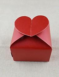 Недорогие -Кубик Чистая бумага Фавор держатель с В виде сердца Упаковка и коробки для кексов - 100шт