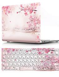 """Недорогие -MacBook Case with Protectors Цветы ПВХ для MacBook Pro, 13 дюймов / MacBook Air, 13 дюймов / New MacBook Air 13"""" 2018"""