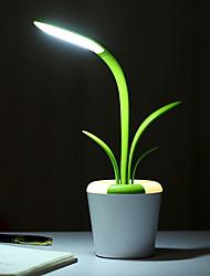 זול -1pc LED לילה אור לבן USB יצירתי <=36 V