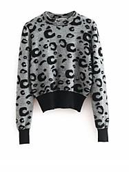 abordables -Femme Pullover Marron / Vert / Gris S / M / L