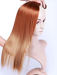 tanie -Laflare Ombre Doczepy syntetyczne Prosta Włosie synetyczne Długość średnia Przedłużanie włosów Splot włosów 3 szt. Cosplay Regulowany Najwyższa jakość Damskie Święta Ślub Halloween