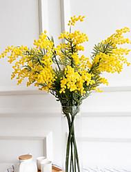abordables -Fleurs artificielles 3 Une succursale Classique Traditionnel / Classique Style Simple Plantes Fleurs éternelles Fleur de Table