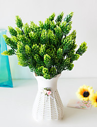 abordables -Fleurs artificielles 5 Une succursale Classique Accessoires de Scène style pastoral Plantes Fleurs éternelles Fleur de Table