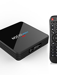 Недорогие -PULIERDE MX10PRO TV Box Android 8.1 TV Box RK3328 4GB RAM 32Гб ROM Quad Core Новый дизайн