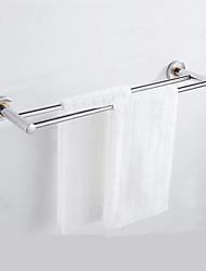 halpa -Kylpyhuonetarvikesetti / Pyyhetanko Vaihtuva väri / Ihana / Tyylikäs Nykyaikainen / Moderni Ruostumaton teräs / rauta 1kpl - Kylpyhuone Double Seinäasennus