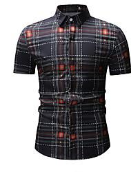 billiga -herrtröja från eu / us storlek - plädskjorta