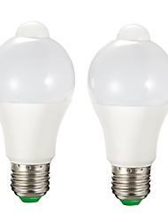 Недорогие -2pcs 9 W 750 lm E26 / E27 Умная LED лампа A60(A19) 15 Светодиодные бусины SMD 2835 Датчик Управление освещением Тёплый белый Белый 85-265 V