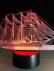 Недорогие -1шт Поддельная камера 3D ночной свет Поменять USB Для детей / Меняет цвета / Креатив 5 V